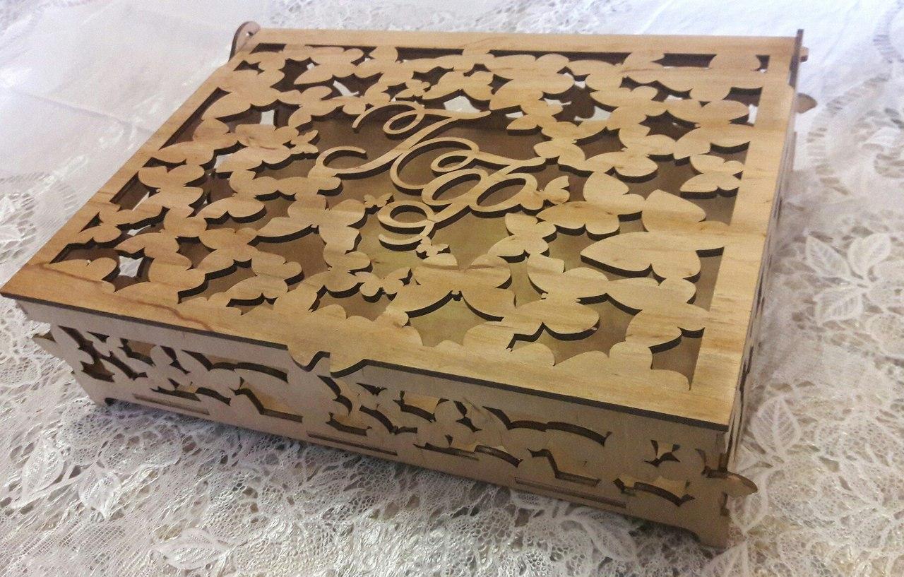 Деревянные коробки из дерева и фанеры