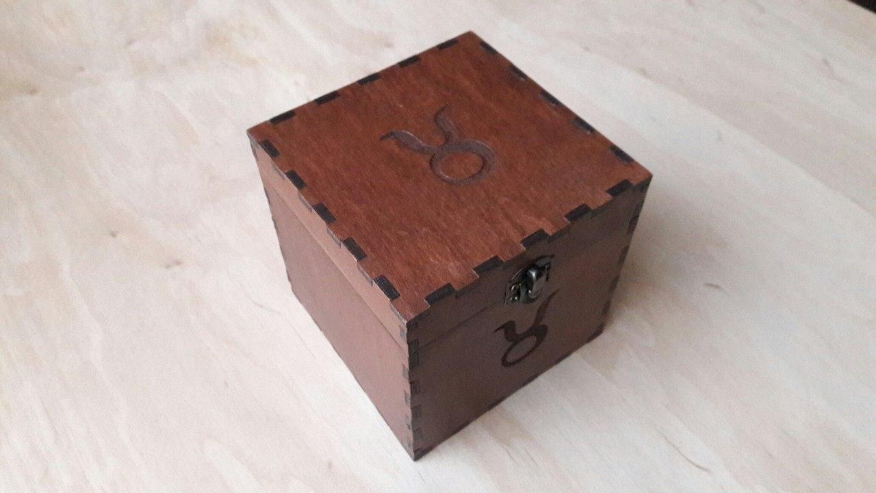 Подарочная упаковка из дерева под заказ нужного размера