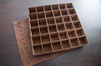 Коробка органайзер из дерева под заказ