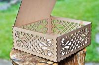 Деревянные коробки из фанеры. Лазерная резка фанеры