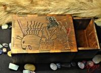 Коробка в коробке из дерева и фанеры