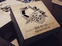 Шкатулку и коробки из дерева и фанеры для печенья