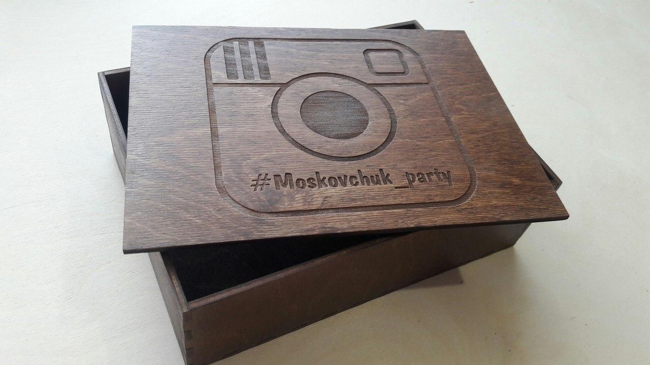 коробки для фотосессии, фото 10х15см. Лазерная резка и гравировка дерева в Харькове