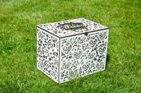 Белые свадебные коробки для подарков, денег, конвертов