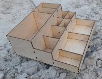 Изготовление органайзера из дерева под заказ для кафе и ресторанов