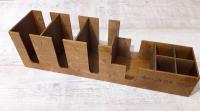 Органайзер из дерева для кафе и ресторанов, организатор для салфеток, крышек, стаканчиков