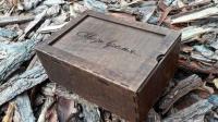 Коробка из дерева для фото - Сквозь время