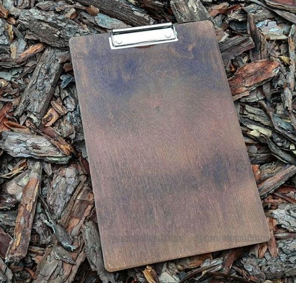 Изготовление планшетов с зажимом из дерева под заказ