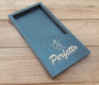 Деревянная счетница для кафе и ресторанов с нанесением логотипа методом лазерной гравировки