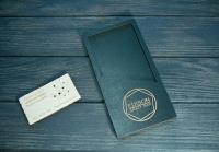 Деревянные счетницы для кафе, баров и ресторанов. Лазерная резка фанеры и гравировка дерева