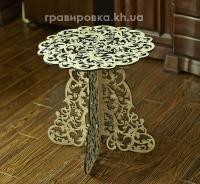 Кофейный деревянный столик