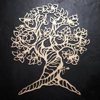 Декор интерьера на стену Дерево