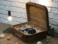 Чемоданчик из фанеры, подарочная коробка