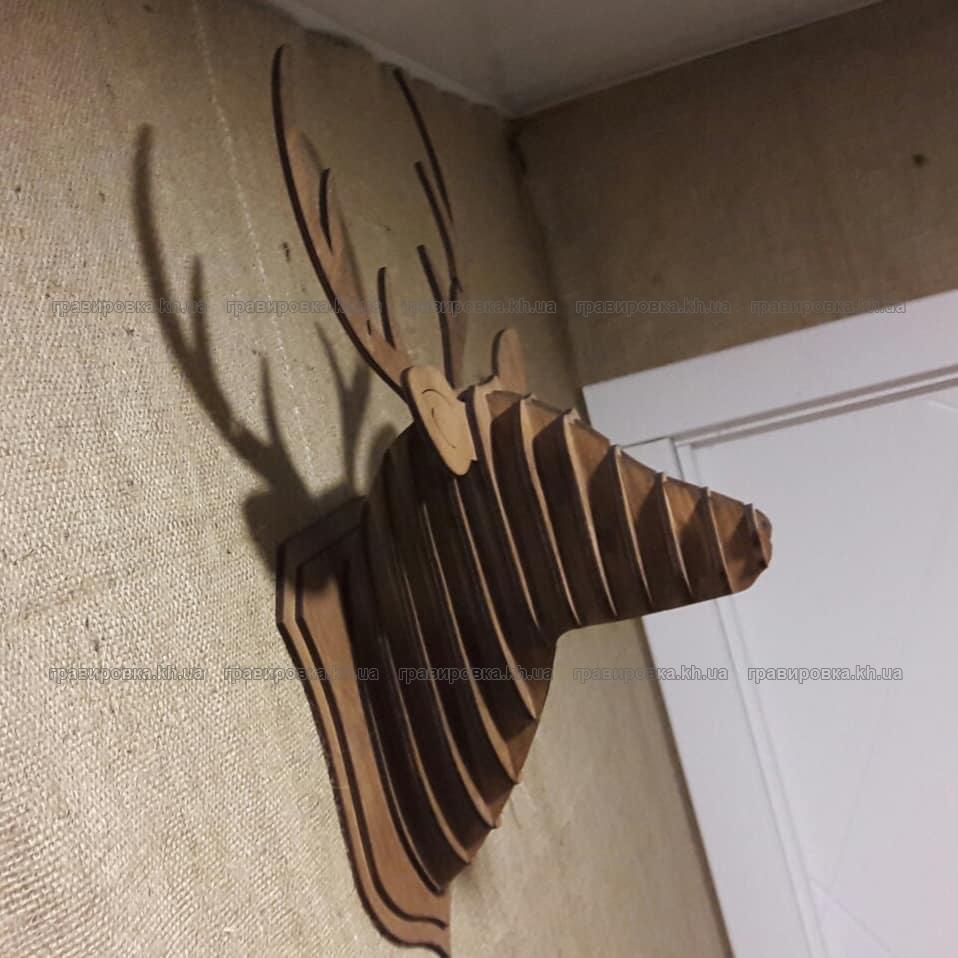 3D пазл Голова оленя