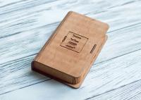 Деревянная коробка для денег для кафе и ресторанов