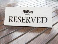 Настольные таблички для ресторанов с любыми надписями