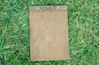 Планшет для меню из дерева для кафе и ресторанов
