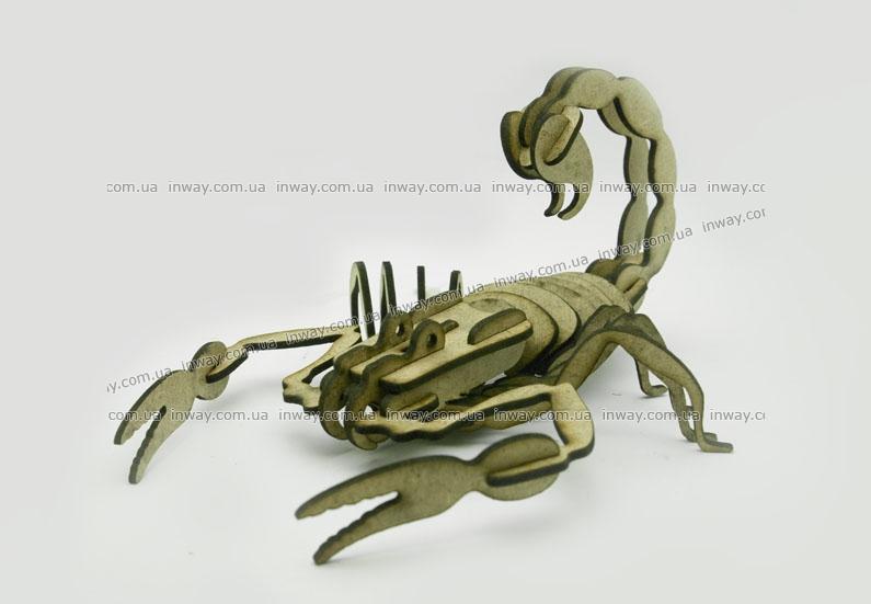 Конструктор головоломка - скорпион