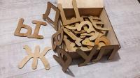 Буквы из дерева и фанеры для детей, лазерная резка фанеры