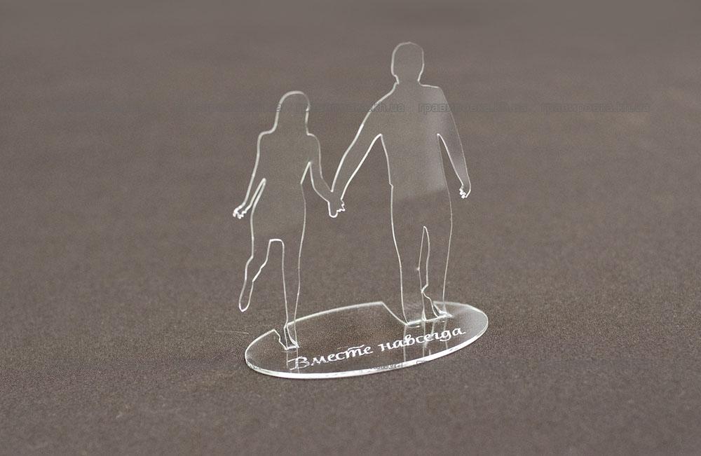 Фигурки из пластика - эксклюзивные сувениры с гравировкой