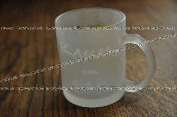 Лазерная гравировка на чашках