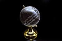 Гравировка на глобусе, гравировка на стекле