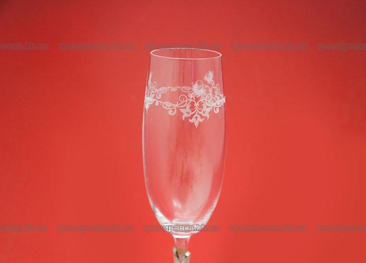 Гравировка на бокалах, лазерная гравировка  бокалов