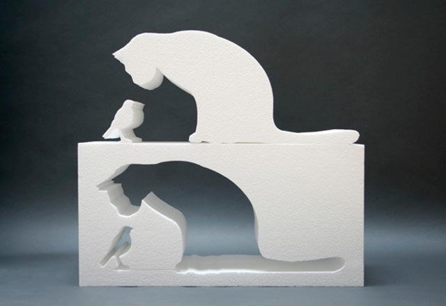 Лазерная резка декораций из пенопласта
