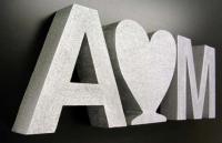 Лазерная резка пенопласта , объёмные буквы