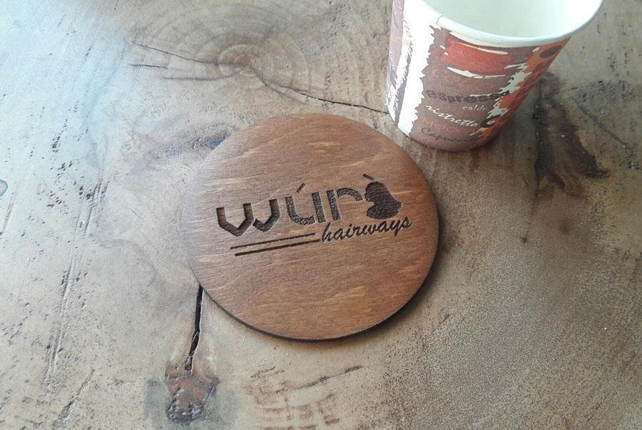Подставки для чашек из дерева