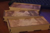 Сувенирная упаковка из дерева (фанеры) для денег
