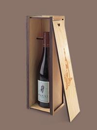 Подарочная коробка для вина с гравировкой
