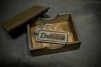 Коробки из дерева (фанеры) для брелков, медальонов и сувениров