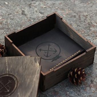 Сувенирные коробки, шкатулки, упаковка из дерева с логотипом
