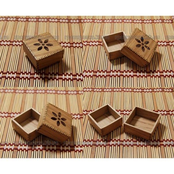 Сувенирные коробочки из фанеры, дерева с гравировкой