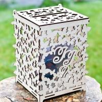 Свадебная коробка для конвертов, денег, подарков