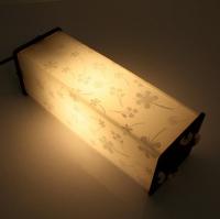 Лампа, светильник ночник из фанеры