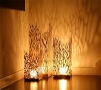 Лампы, светильники, ночники из фанеры