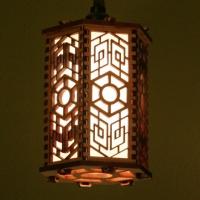 Лампы, светильники из фанеры и пластика