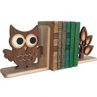 Сова из фанеры, подставка для книг