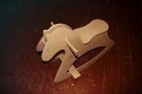 Лошадка - качалка из фанеры