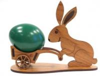 Пасхальный кролик из фанеры, подставка для яиц