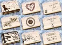 Разделочные доски с лазерной гравировкой, подарок на свадьбу для влюблённых